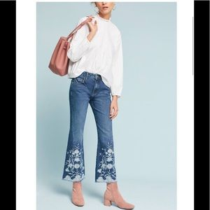 Anthropologie Pilcro & the Letterpress flare jeans